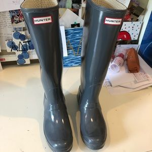 Hunter Rain boots! Perfect Condition
